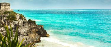 View of Tulum and Tankah Park